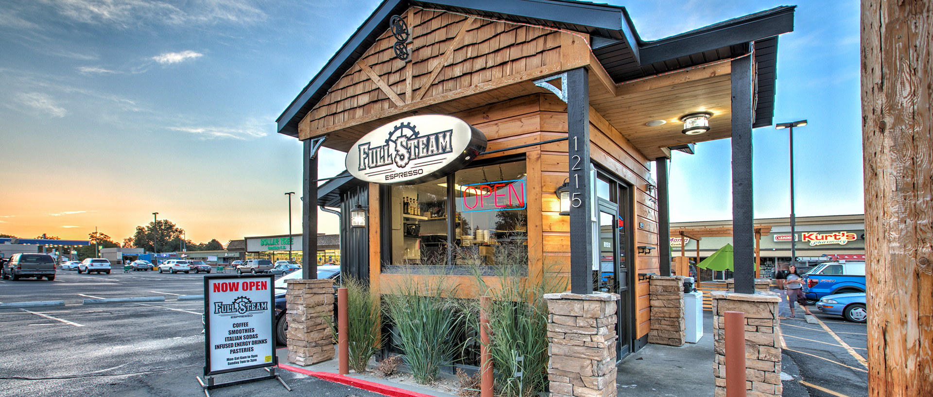 Coffee Twin Falls Idaho Full Steam Espresso